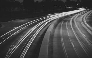 UberTax Night Road Tail Lights