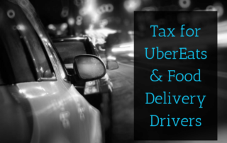 Tax For UberEats & Food Delivery Drivers