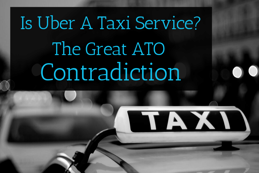 is Uber a taxi service