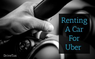 How To Rent a Car for Uber
