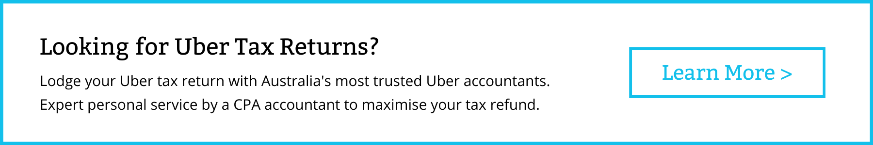 DriveTax Uber BAS Lodgment