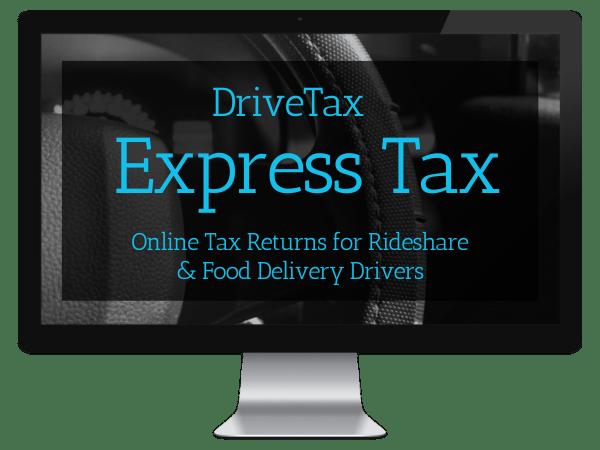 DriveTax Uber Tax Return Online